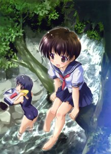 Rating: Safe Score: 33 Tags: komatsu_e-ji school_swimsuit seifuku swimsuits User: Bulzeeb