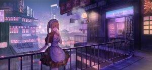 Rating: Safe Score: 41 Tags: landscape maid nogi_momoko smoking User: BattlequeenYume