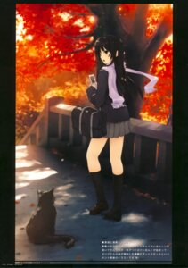 Rating: Safe Score: 51 Tags: akiyama_mio coffee-kizoku k-on! neko royal_mountain seifuku User: Hatsukoi