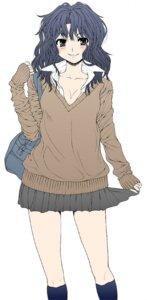 Rating: Safe Score: 9 Tags: amagami cleavage seifuku tanamachi_kaoru yoshida_inuhito User: Radioactive