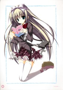 Rating: Safe Score: 21 Tags: inugami_kira seifuku seitokai_no_ichizon shiina_mafuyu thighhighs User: WtfCakes