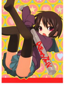Rating: Safe Score: 16 Tags: a_channel ichii_tooru kuroda_bb seifuku thighhighs User: Radioactive