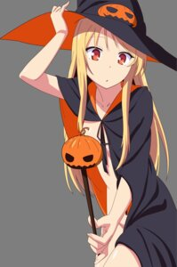 Rating: Questionable Score: 89 Tags: fujii_masahiro halloween naked_cape sakura-sou_no_pet_na_kanojo shiina_mashiro transparent_png witch User: Ariqbestian