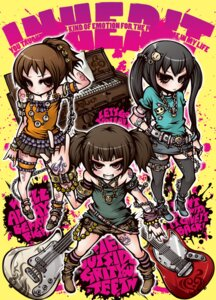 Rating: Safe Score: 8 Tags: guitar hirasawa_ui k-on! nakano_azusa project.c.k. suzuki_jun tattoo thighhighs User: animeprincess