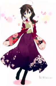Rating: Safe Score: 53 Tags: fixed japanese_clothes kantai_collection kimono naoto shigure_(kancolle) User: frozen0416