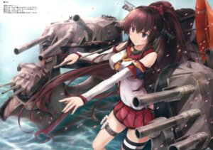 Rating: Safe Score: 65 Tags: garter kantai_collection seifuku suien thighhighs umbrella weapon yamato_(kancolle) User: Twinsenzw