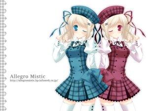 Rating: Safe Score: 22 Tags: dress lolita_fashion takano_yuki thighhighs wallpaper User: yumichi-sama