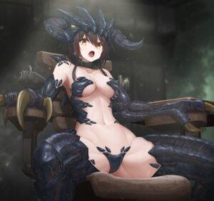 Rating: Questionable Score: 43 Tags: anthropomorphization bottomless fallout horns maebari monster_girl no_bra tagme tom-neko_(zamudo_akiyuki) User: Dreista