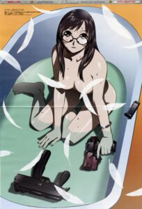 Rating: Questionable Score: 10 Tags: bathing crease fixme gun kite kite_liberator megane naked noguchi_monaka umetsu_yasuomi wet User: admin2