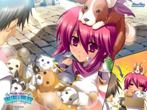 Rating: Safe Score: 21 Tags: baseson katagiri_hinata koihime_musou neko ryofu wallpaper User: blooregardo