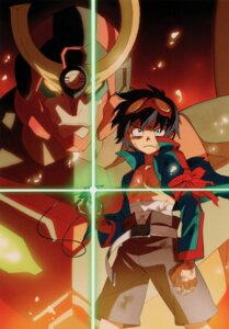Rating: Safe Score: 15 Tags: male mecha simon tengen_toppa_gurren_lagann User: howagirlfigures
