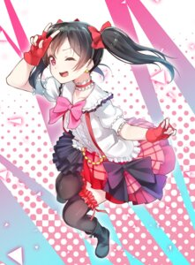 Rating: Safe Score: 43 Tags: love_live! ninnzinn thighhighs yazawa_nico User: Mr_GT