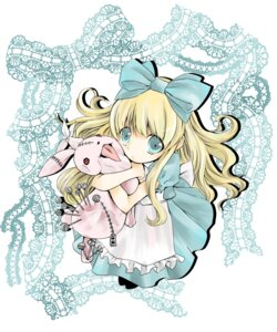 Rating: Safe Score: 9 Tags: alice alice_in_wonderland dress shinku_(artist) teori yandere User: charunetra