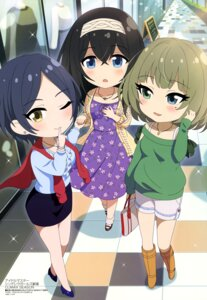 Rating: Safe Score: 18 Tags: creative_house_pocket dress hayami_kanade heels sagisawa_fumika sweater takagaki_kaede the_idolm@ster the_idolm@ster_cinderella_girls User: drop