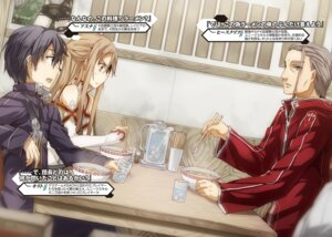 Rating: Safe Score: 6 Tags: abec asuna_(sword_art_online) heathcliff kirito sword_art_online tagme User: kiyoe