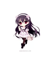 Rating: Safe Score: 8 Tags: chibi hayakawa_harui okushiro_yuki pantyhose shoujo_shiniki_shoujo_tengoku User: Hatsukoi