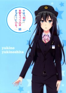 Rating: Safe Score: 64 Tags: tagme uniform yahari_ore_no_seishun_lovecome_wa_machigatteiru. yukinoshita_yukino User: Radioactive