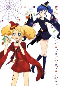 Rating: Questionable Score: 5 Tags: aikatsu! dress halloween kiriya_aoi saegusa_kii tagme tattoo User: Radioactive