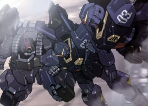 Rating: Safe Score: 10 Tags: gundam gundam_mark-ii_titans mecha titans weapon zeta_gundam User: drop