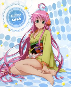 Rating: Safe Score: 41 Tags: feet kimono kutsuzawa_youko lala_satalin_deviluke to_love_ru User: MDGeist