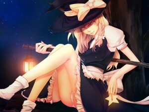 Rating: Questionable Score: 37 Tags: kirisame_marisa pantsu porigon touhou wallpaper User: konstargirl