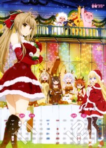 Rating: Safe Score: 99 Tags: amagi_brilliant_park animal_ears calendar christmas cleavage dress horns kanie_seiya kobori latifah_fleuranza macaron_(amagi_brilliant_park) moffle muse_(amagi_brillant_park) pantyhose salama sento_isuzu sylphy tiramie uniform User: drop
