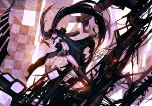 Rating: Safe Score: 34 Tags: bikini_top black_rock_shooter black_rock_shooter_(character) hanyijie User: Zenex