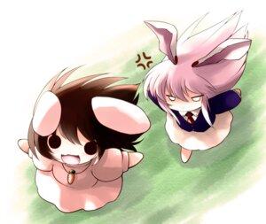 Rating: Safe Score: 24 Tags: animal_ears bunny_ears chibi inaba_tewi reisen_udongein_inaba touhou yume_shokunin User: itsu-chan