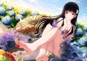 Rating: Questionable Score: 235 Tags: breasts feet no_bra nopan open_shirt sanka_rea sankarea see_through umbrella xiao_ren User: Mr_GT