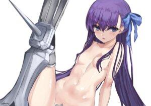 Rating: Questionable Score: 38 Tags: areola armor fate/grand_order kesoshirou maebari meltlilith naked thighhighs User: hiroimo2