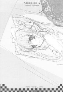 Rating: Questionable Score: 3 Tags: genshou_koubou monochrome sketch sugiyama_genshou User: Radioactive