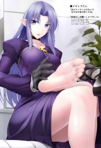 Rating: Safe Score: 37 Tags: caster dress fate/grand_order fate/stay_night feet naturalton pointy_ears User: kiyoe