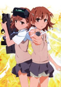 Rating: Questionable Score: 25 Tags: gun misaka_imouto misaka_mikoto seifuku to_aru_kagaku_no_railgun to_aru_kagaku_no_railgun_s to_aru_majutsu_no_index User: Twinsenzw