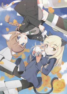 Rating: Safe Score: 12 Tags: lynette_bishop perrine-h_clostermann shimada_humikane strike_witches User: Nismosis