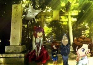 Rating: Safe Score: 19 Tags: dress gegege_no_kitaro inuyama_mana ittan-momen kitarou medama-oyaji neko_musume nezumi_otoko pointy_ears robe seifuku tagme User: drop