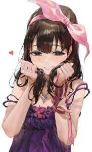 Rating: Safe Score: 65 Tags: cleavage dress mossi sakuma_mayu the_idolm@ster the_idolm@ster_cinderella_girls User: Mr_GT