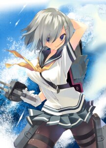 Rating: Safe Score: 56 Tags: arikawa_satoru hamakaze_(kancolle) kantai_collection pantyhose seifuku User: tbchyu001