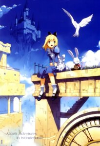 Rating: Safe Score: 18 Tags: alice alice_in_wonderland fancy_fantasia ueda_ryou white_rabbit User: Mirukudesu