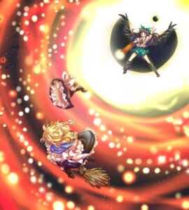 Rating: Safe Score: 4 Tags: enone kirisame_marisa reiuji_utsuho touhou User: Radioactive