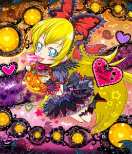 Rating: Questionable Score: 7 Tags: chibi dokidoki!_precure halloween pretty_cure regina_(dokidoki!_precure) User: mioxnorman