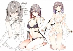 Rating: Questionable Score: 65 Tags: bikini cleavage dress psychosteak see_through shunsei swimsuits tagme wings User: kiyoe