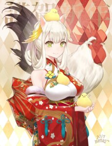 Rating: Safe Score: 43 Tags: animal_ears japanese_clothes jpeg_artifacts yaman User: nphuongsun93