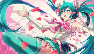 Rating: Safe Score: 27 Tags: 40hara hatsune_miku miku_append thighhighs vocaloid User: 23yAyuMe
