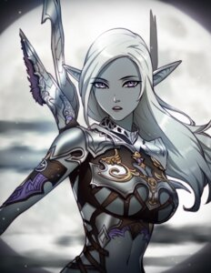 Rating: Safe Score: 41 Tags: armor bikini_armor elf lineage pinkladymage pointy_ears weapon User: NotRadioactiveHonest