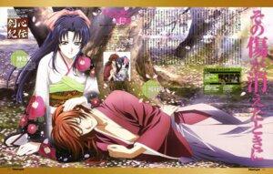 Rating: Safe Score: 6 Tags: himura_kenshin kamiya_kaoru kimono nakajima_atsuko rurouni_kenshin User: Ravenblitz