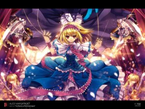 Rating: Safe Score: 21 Tags: alice_margatroid capura.l touhou wallpaper User: Radioactive