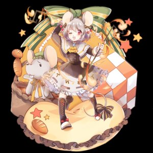 Rating: Safe Score: 19 Tags: animal_ears dress nazrin siam_(meow13) tail touhou User: Mr_GT