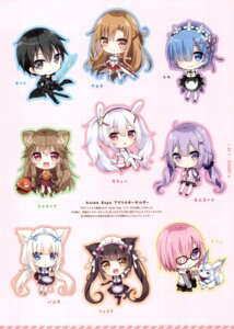 Rating: Safe Score: 13 Tags: animal_ears armor asuna_(sword_art_online) azur_lane bunny_ears chibi chocola cleavage dress fate/grand_order hoshi kirito laffey_(azur_lane) maid mash_kyrielight megane nekomimi nekopara pantyhose raphtalia re_zero_kara_hajimeru_isekai_seikatsu rem_(re_zero) seifuku sweater sword sword_art_online tail tate_no_yuusha_no_nariagari thighhighs unicorn_(azur_lane) vanilla waitress User: kiyoe