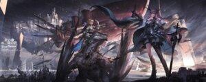 Rating: Safe Score: 20 Tags: armor landscape monster pixiv_fantasia pixiv_fantasia_last_saga stu_dts sword tagme User: BattlequeenYume
