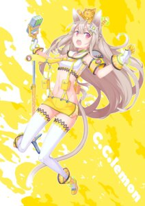 Rating: Safe Score: 40 Tags: animal_ears ayaki c.c._lemon c.c._lemon_(character) neko nekomimi tail User: mula3